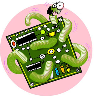 efectos de los virus en computadoras:
